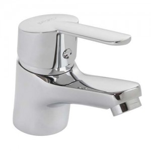 Pegler Araya Monobloc Basin Mixer no waste - Chrome [4S1205]