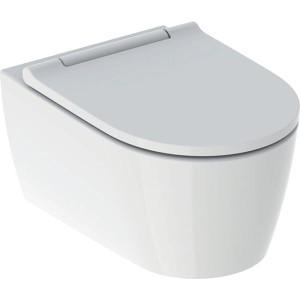 Geberit One Wall Mounted Shrouded Pan - White [500201011]