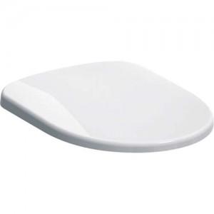 Geberit Selnova Toilet Seat - L Shape bottom fix hinges - White  [500331011]