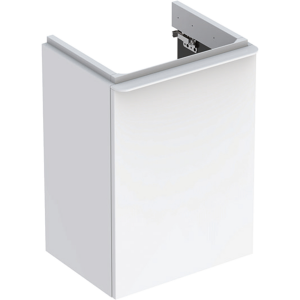 Geberit 500350001 Smyle Square 450mm Right Hand Door Vanity Unit - White