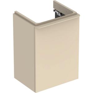 Geberit 500350JL1 Smyle Square 450mm Right Hand Door Vanity Unit - Sand