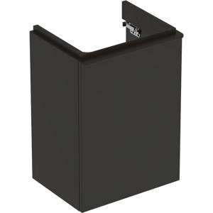 Geberit 500351JK1 Smyle Square 450mm Left Hand Door Vanity Unit - Lava