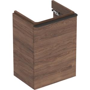 Geberit 500351JR1 Smyle Square 450mm Left Hand Door Vanity Unit - Hickory