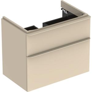 Geberit 500353JL1 Smyle Square 750mm Vanity Unit & Two Drawers - Sand
