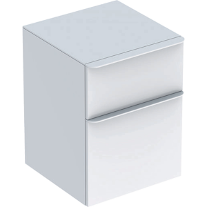 Geberit 500357001 Smyle Square Low Side Unit - White