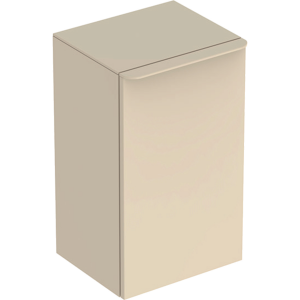 Geberit 500359JL1 Smyle Square Reduced Depth Low Side Unit with Right Door - Sand