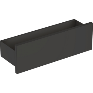 Geberit 500362JK1 Smyle Square 450mm Box Shelf - Lava
