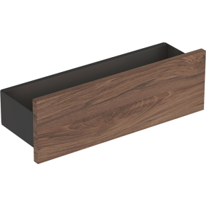 Geberit 500362JR1 Smyle Square 450mm Box Shelf - Hickory