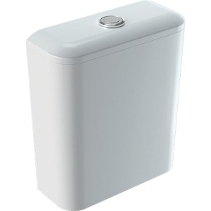 Geberit iCon Square Close coupled cistern - White [500411011]