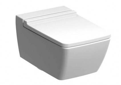 Geberit Xeno2 Rimless Wall Mounted WC Rimless Wall Mounted WC pan - White [500500011]