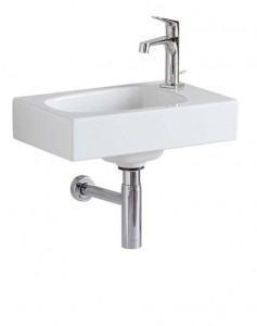Geberit Citterio Hand Basin 45cm One right hand tap hole - White [500541011]