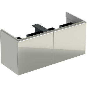 Geberit 500613JL2 Acanto 1190mm Vanity Unit for Double Basin with Drawers - Sand