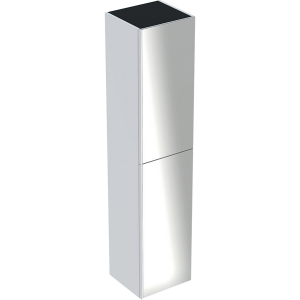 Geberit 500619012 Acanto Tall Cabinet with Two Doors - White