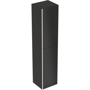 Geberit 500619JK2 Acanto Tall Cabinet with Two Doors - Lava