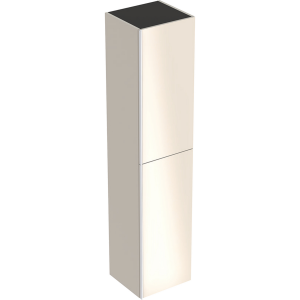 Geberit 500619JL2 Acanto Tall Cabinet with Two Doors - Sand