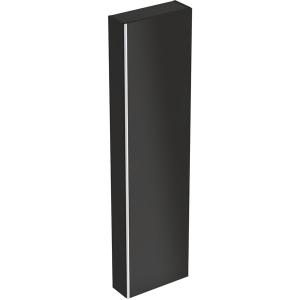 Geberit 500637161 Acanto Tall Cabinet with One Door - Black