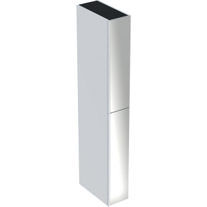 Geberit 500638012 Acanto Tall Room Divider Side Unit - White
