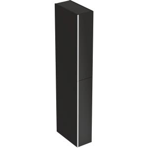 Geberit 500638161 Acanto Tall Room Divider Side Unit - Black
