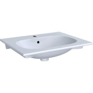 Geberit Acanto Slim Basin 60cm One tap hole - White [500640012]