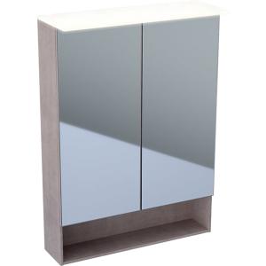 Geberit 500644001 Acanto 600mm Mirror Cabinet with Doble Doors