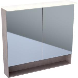 Geberit 500646001 Acanto 900mm Mirror Cabinet with Doble Doors