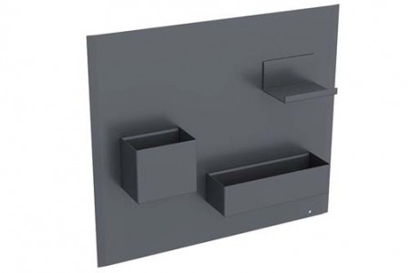 Geberit Furniture Magnetic Wall and Smart Storage - Black  [500649161]