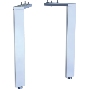 Geberit 500657002 Acanto Feet for Compact Basin Units (Pair) - Chrome