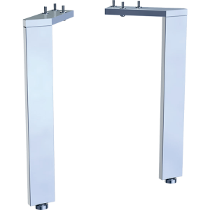 Geberit 500658002 Acanto Feet for Standard Basin Units (Pair) - Chrome