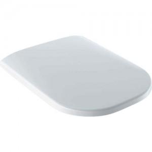 Geberit Smyle Soft Close Square Toilet Seat - White [500980011]