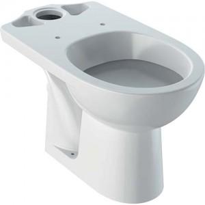 Geberit Selnova Floorstanding Pan - White - For Close Coupled Exposed Cistern Horizontal Outlet 6/4 or 4/2.6 Litre [501041006]