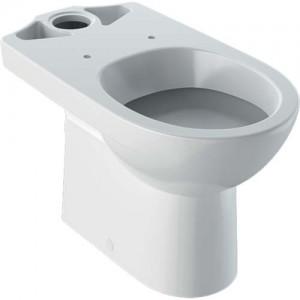 Geberit Selnova Premium Floorstanding Pan - For Close Coupled Exposed Cistern Horizontal Outlet 6/4 or 4/2.6 Litre - White [501042006]