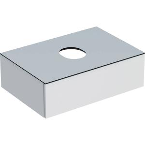 Geberit 501159001 Variform 750mm Cabinet for Lay-on Basin & One Drawer - White
