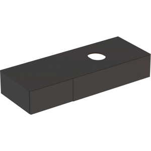 Geberit 501178001 Variform 1350mm Cabinet for Lay-on Basin & Two Drawers - Lava