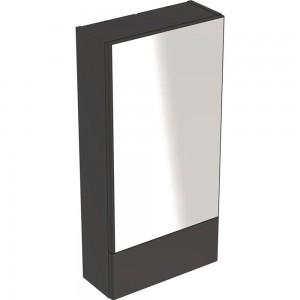 Geberit 501412JK1 Selnova Square 500mm Mirror Cabinet - Lava