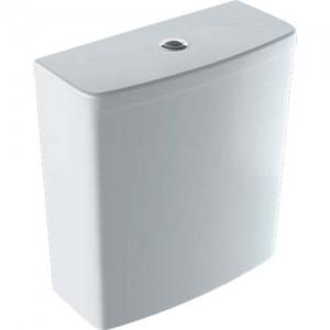 Geberit Selnova Square Exposed Cistern Close Coupled Dual Flush 4/2.6 Litre - White [501459006]