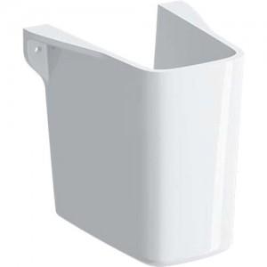 Geberit Selnova Square Semi Pedestal - White [501477007]
