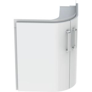Geberit 501486001 Selnova Compact 700mm Corner Basin Unit - White