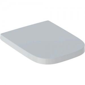 Geberit Selnova Square - Soft Close Toilet Seat - White [501557011]