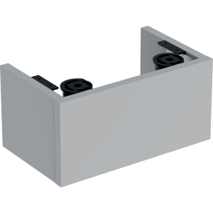 Geberit 501586001 Selnova Compact Plinth for 400mm Basin Unit - Grey