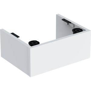 Geberit 501591001 Selnova Compact Plinth for 450mm Wash Basin Unit - White