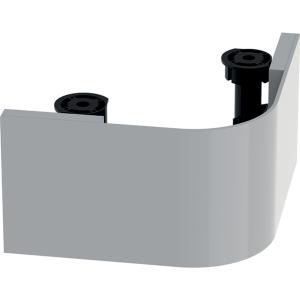 Geberit 501592001 Selnova Compact Plinth for 550mm Wash Basin - Grey