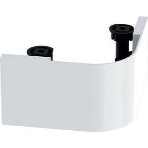 Geberit 501599001 Selnova Compact Plinth for Corner 450mm Basin Unit - White