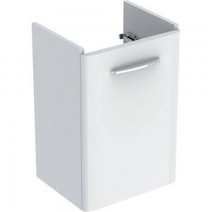 Geberit 500183011 Selnova Square Cabinet for 450mm Hand Basin with Shelf Surface - White
