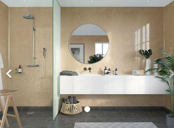 FIBO F506-HG 2400x600mm Timeless High Gloss Aqualock Wall Panel 2400x600mm Toscana