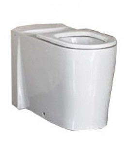 Vitra Back to Wall Pan - White [5119WH]