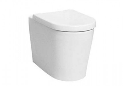 Vitra Comm Back to Wall Pan - White [5138WH]