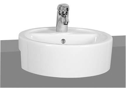 Vitra Comm Basin 45cm. 1TH - White [5146WH]