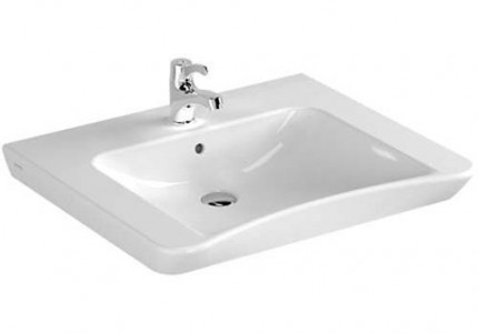 Vitra Basin 65 x 56cm 1TH - White [5291WH]