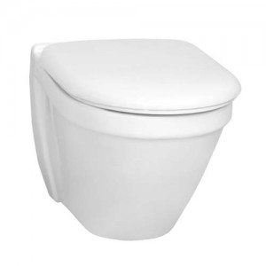 Vitra S50 Short Projection Wall Mounted Pan - White [5320WH]