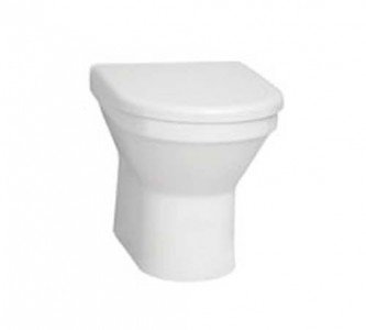 Vitra S50 Back to Wall Pan - White [5323WH]